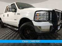 New Price! Clean CARFAX. 4D Crew Cab, Power Stroke 6.0L