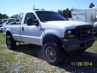 2006 Ford F250 XL 4x4 - 5.4 V8 - automatic - air