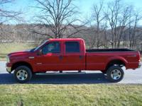 2006 Ford F350 Crew Cab Diesel Lariat 4x4 Selling this