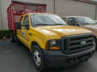 This is a 2006 Ford F350 Crew Cab Truck. This truck has