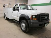 2006 Ford F550 4x4 6.0 V8 Diesel Regular Cab