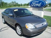 Options Included: N/A2006 Ford Five Hundred Limited AWD