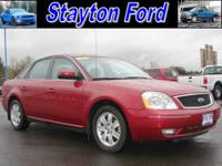 This is a very nicely equipped 2006 Ford Five Hundred