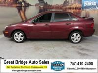 2006 Ford Focus CARS HAVE A 150 POINT INSP, OIL