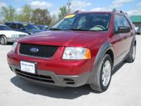 Options Included: N/A2006 Ford Freestyle SE Red, 114685