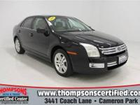 Tried-and-true, this pre-owned 2006 Ford Fusion SEL is