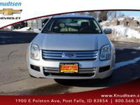 Options:  2006 Ford Fusion Se V6|Silver|Black|All