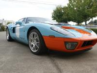 Stunning Ford GT in Heritage Colours (Gulf Cosmos