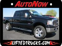 2006 FORD LARIAT F-250 CREW CAB DIESEL TRUCK FOR SALE.