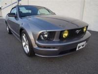 This 2006 Ford Mustang 2dr 2dr Convertible GT Deluxe