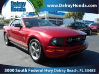 2006 FORD Mustang Convertible Our Location is: Delray