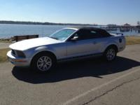 2006 Ford Mustang Convertible Deluxe. It has a bright