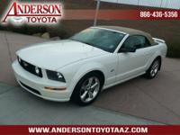Super low mileage Mustang GT Convertible! This 2006 has