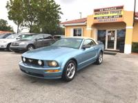 Options:  2006 Ford Mustang Gt Premium 2Dr