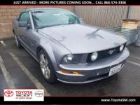 Options:  2006 Ford Mustang Gt Premium|Silver|Clean