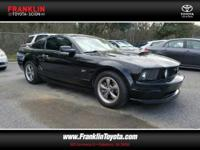 Mustang GT Premium, 4.6L V8 24V, Black, Leather, ABS