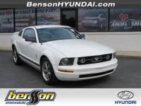 Mustang V6, 2D Coupe, and 5-Speed Automatic with