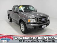 New Arrival! This 2006 Ford Ranger has a sharp Dark