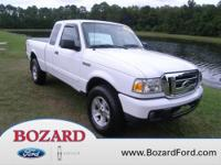 Check out the miles on this 4x4 Ranger! This Ford