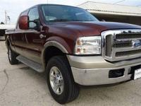 ONE OWNER KING RANCH with Reverse sensing, Auto Rear
