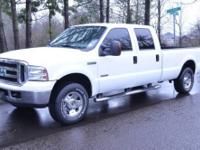 2006 Ford F250 Super Duty Crew Cab 4X4 Off Road, Loaded