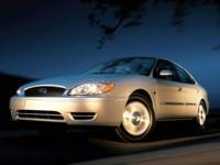 Accident Free AutoCheck History Report, Taurus SEL,