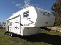 A 30' Fifth Wheel with 1 slide-out and power front