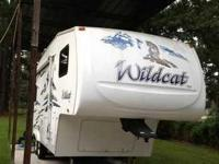 2006 Forest River Wildcat . This camper is in excellent