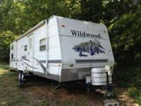2006 Forest River Wildwood Travel Trailer 2006 Wildwood