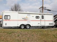 2006 Forest River Work And Play 28br Toy Hauler Trailer