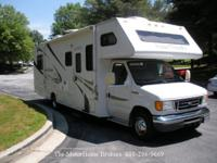 Model 31P with a slide-out. Ready to travel. Built on a