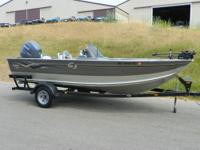 NICE 2006 G3 V185C ANGLER WITH ONLY 98 HOURS! A 150 hp