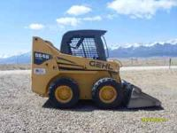 For sale is a 2006 5640 Gehl Skid Steer. It has 885