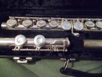 Excellent flute for band students or personal use.