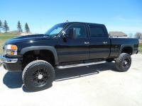 2006 GMC 2500HD CREW CAB. SLT. SHORT BOX. 4WD. DURAMAX