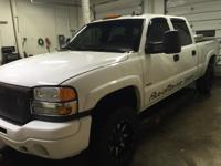 I have a 2006 sierra 2500 hd duramax diesel with only