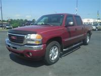 Clean CARFAX. Sport Red Metallic 2006 GMC Sierra 1500
