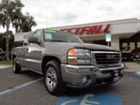 THIS IS A NICE 2006 GMC SIERRA SLE 1500 EXT CAB 4 DOOR