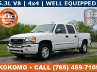 Our GMC Sierra is a Quality Pickup with 5.3L V8 Engine,