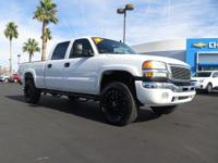 Look at this 2006 GMC Sierra 2500HD SLT. Its Automatic