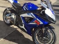 06 GSXR K6 little over 6K in miles bike was rebuilt