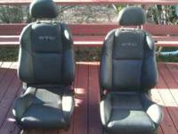 Black leather seats from a 2006 pontiac GTO. Full set