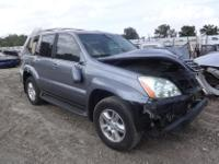COMPLETE SUV FOR PARTS LIGHT BLUE 4.7L 4X4 AUTO TRANS