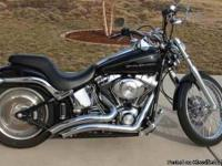I have a 2006 Harley Davidson Deuce Softail. Black in