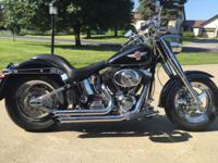 2006 Harley Davidson Fat Boy EFI. Lots of aftermarket