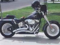 Description 2006 FATBOY harley DAVIDSON. BLACK