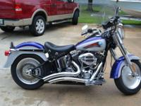 2006 Harley Davidson Fatboy With custom Paint (From