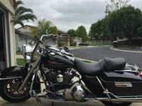 2006 Harley Davidson FLHR Road King. The Harley road