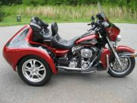 Saddlebags and trunk with custom fit soft luggage,
