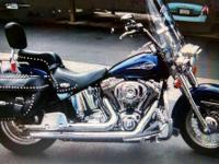 2006 Harley Davidson FLST Heritage Softail. 2006 Harley
